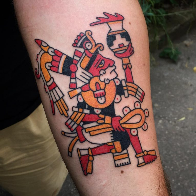 Aztec Tattoo 98