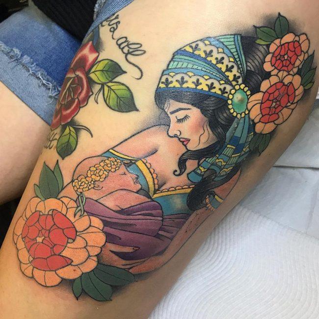 Baby Tattoo 45