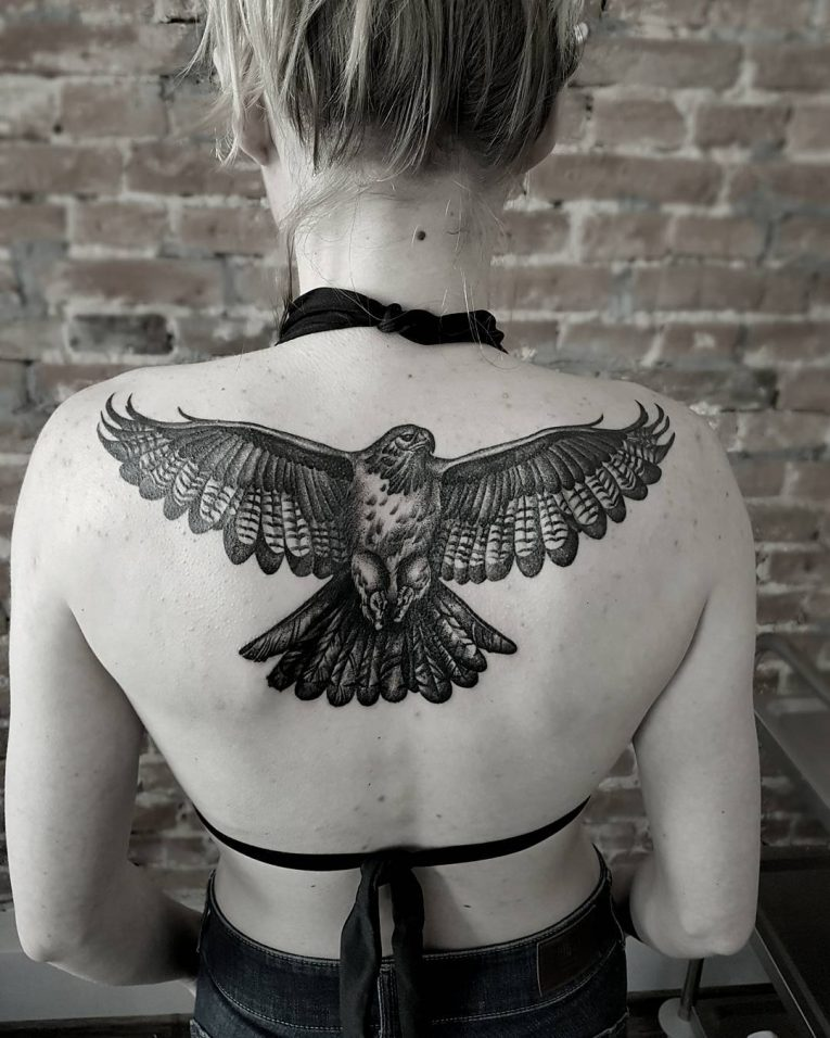 Back Tattoo 106
