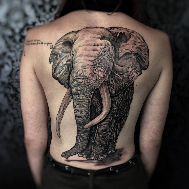 Back Tattoo 108