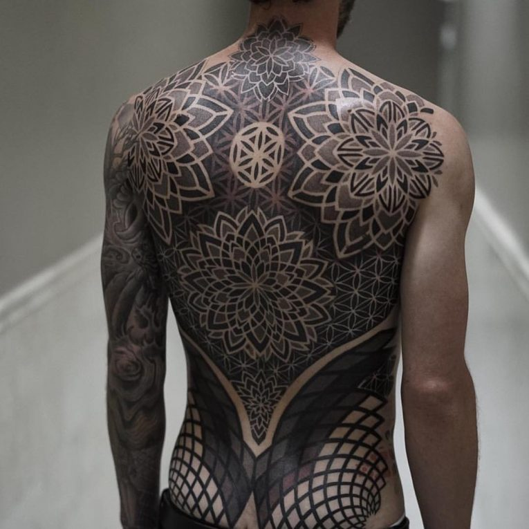 Back Tattoo 109
