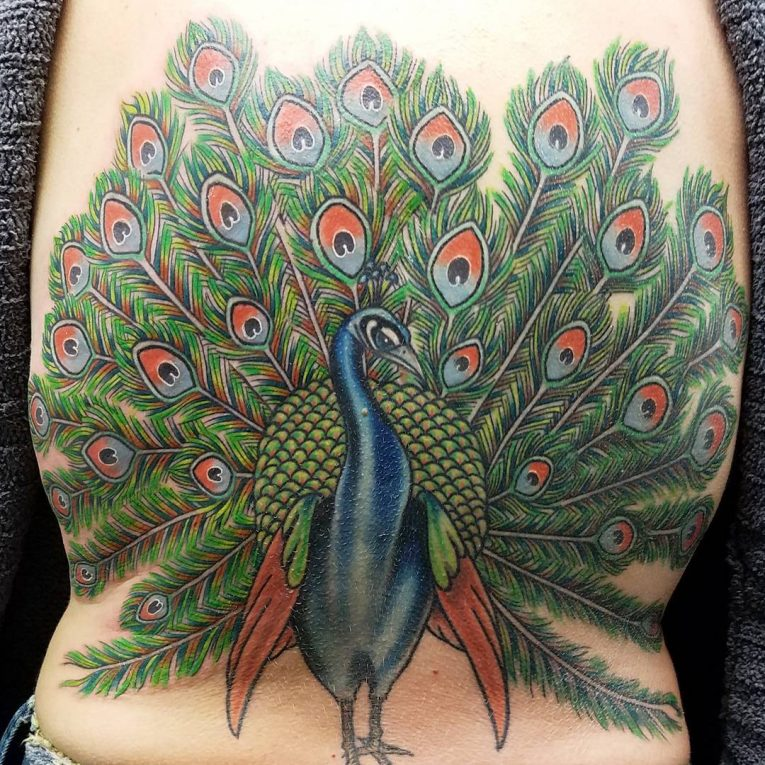Back Tattoo 110