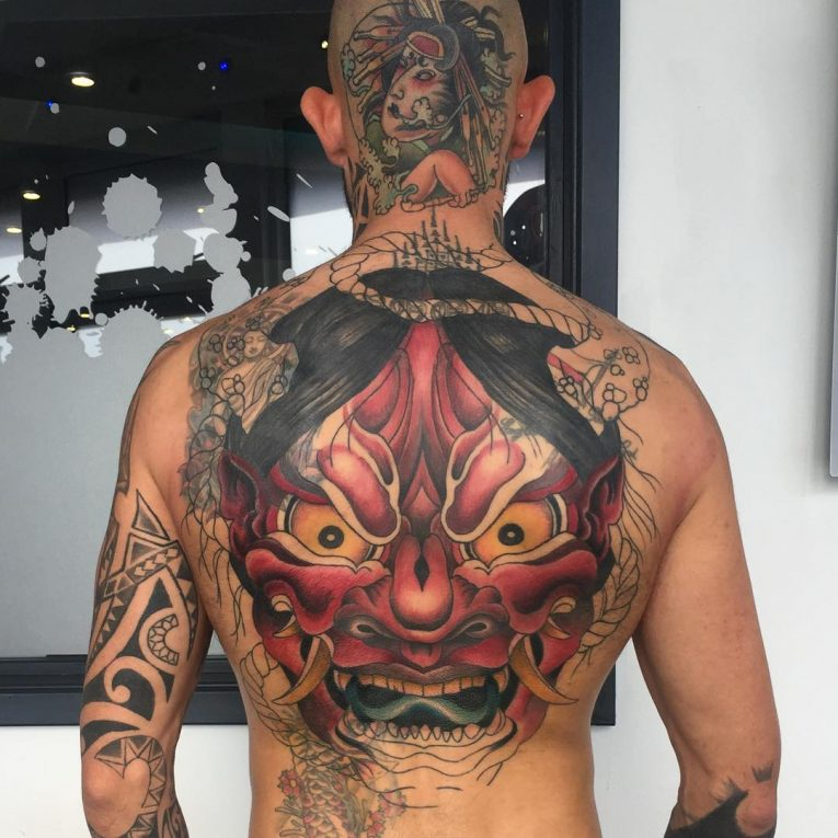 Back Tattoo 111