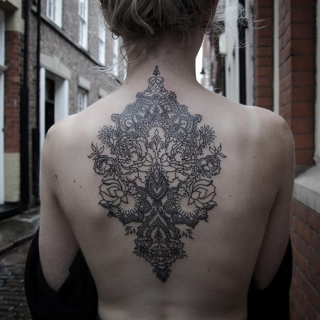 Back Tattoo 91