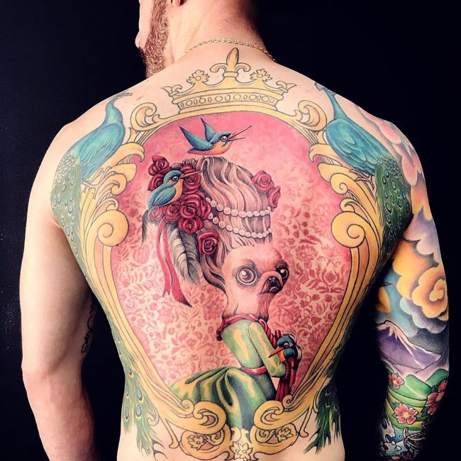 Back Tattoo 93