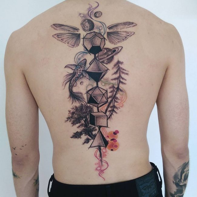 Back Tattoo 95