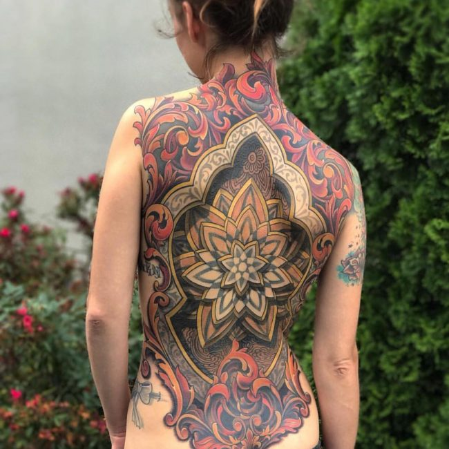 Back Tattoo 96