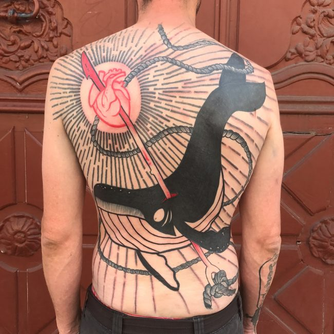 Back Tattoo 98