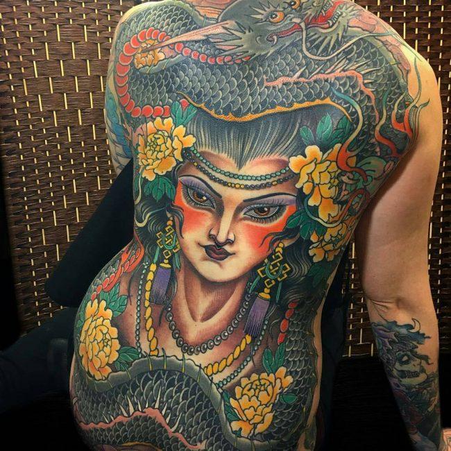 Back Tattoo 99