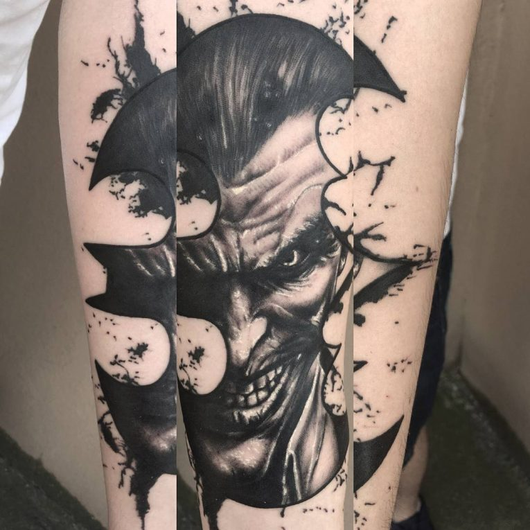 Batman Tattoo 100