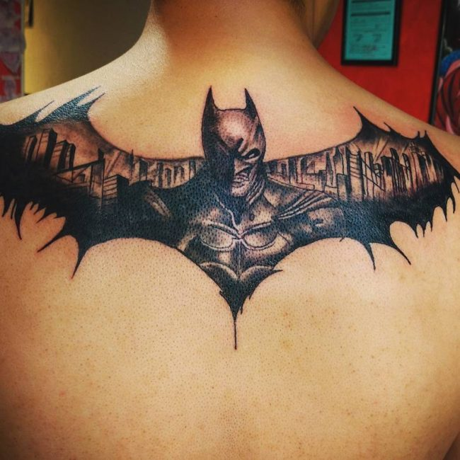 Batman Tattoo 84