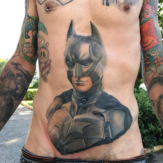 Batman Tattoo 90
