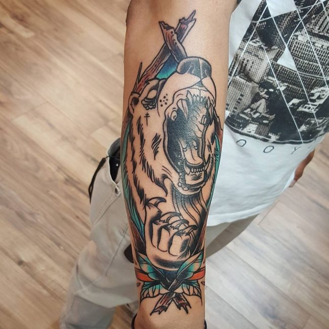 Bear Tattoo 67
