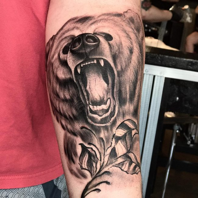 Bear Tattoo 68