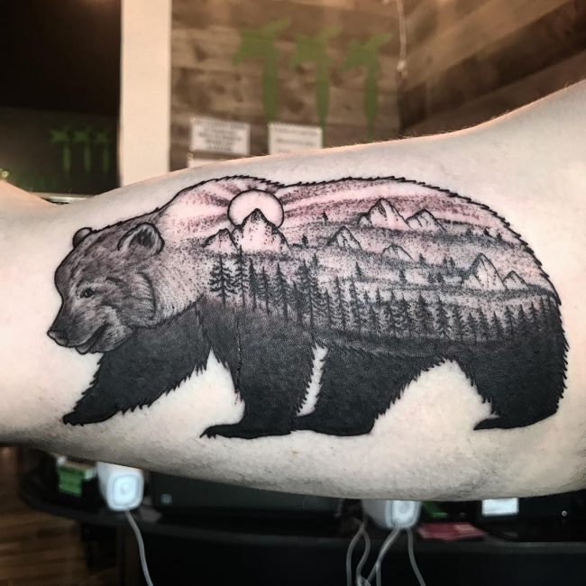 Bear Tattoo 71