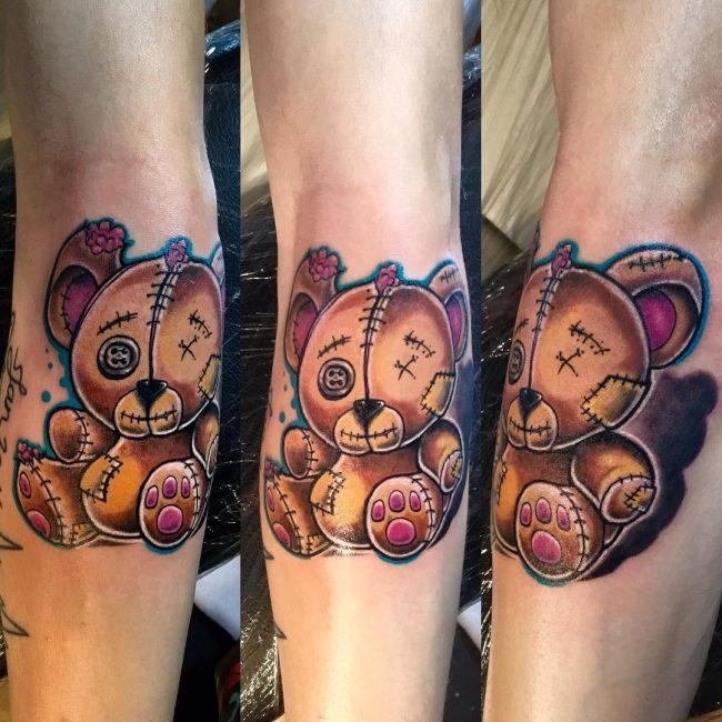 Bear Tattoo 72