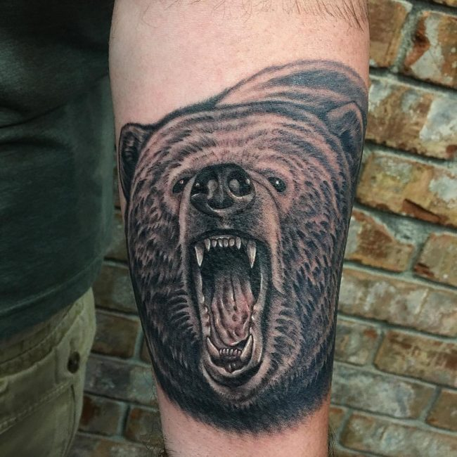 Bear Tattoo 73