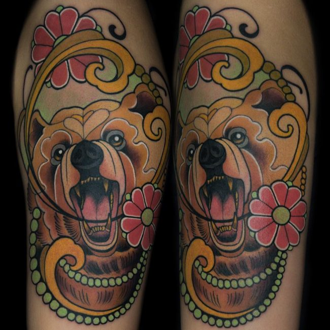Bear Tattoo 75