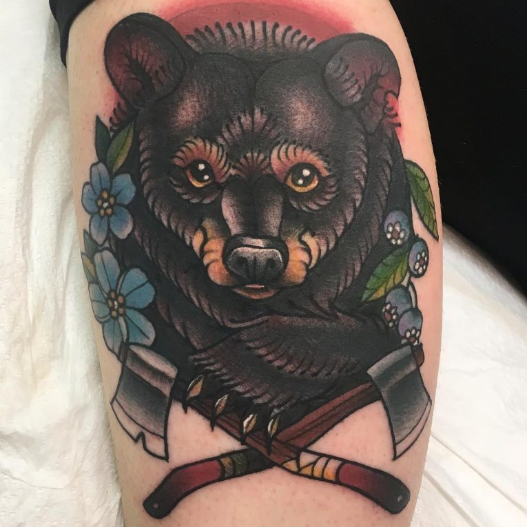 Bear Tattoo 79