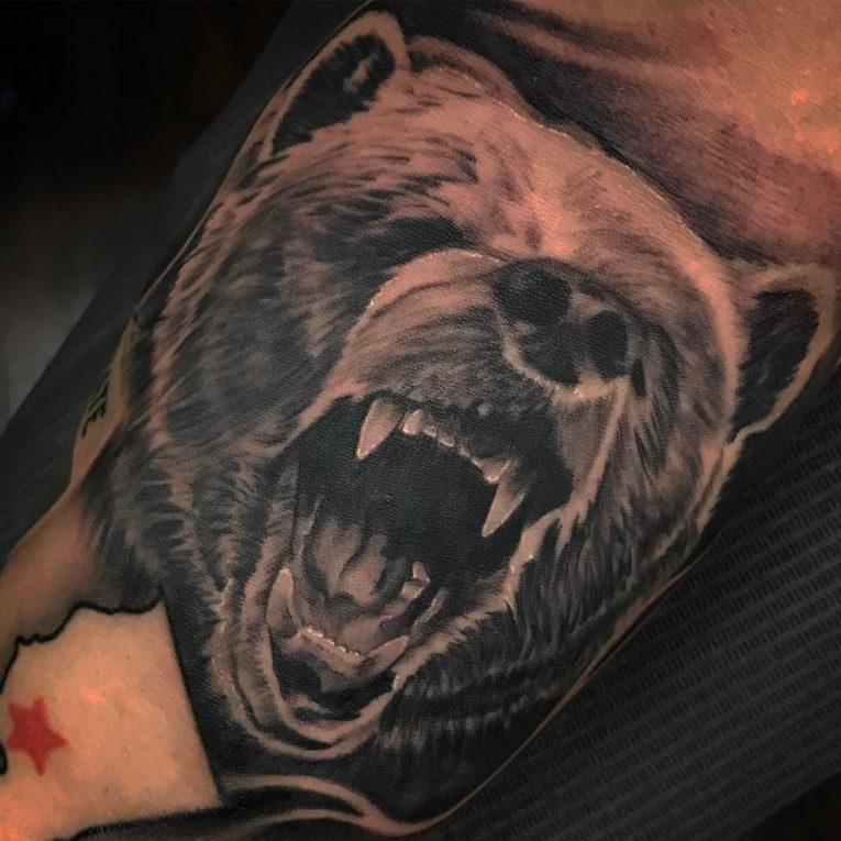 Bear Tattoo 80