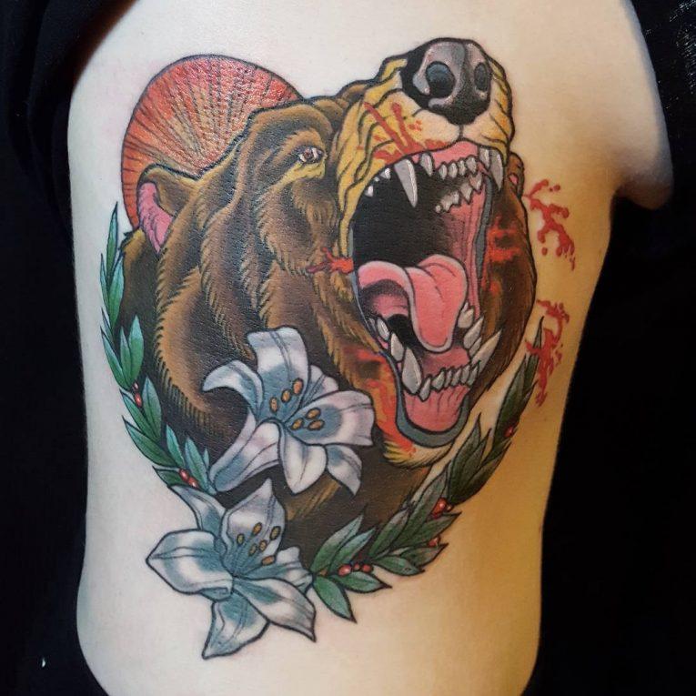 Bear Tattoo 81