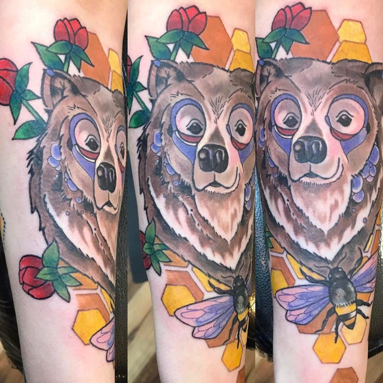 Bear Tattoo 82