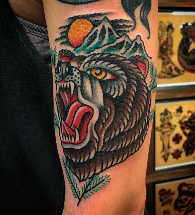 Bear Tattoo 83