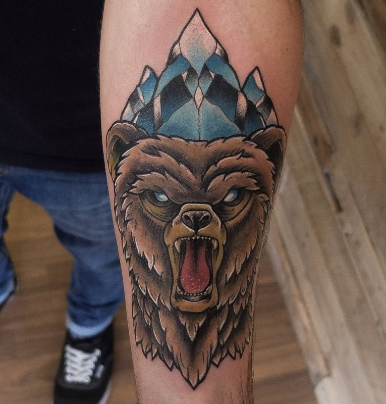 Bear Tattoo 84