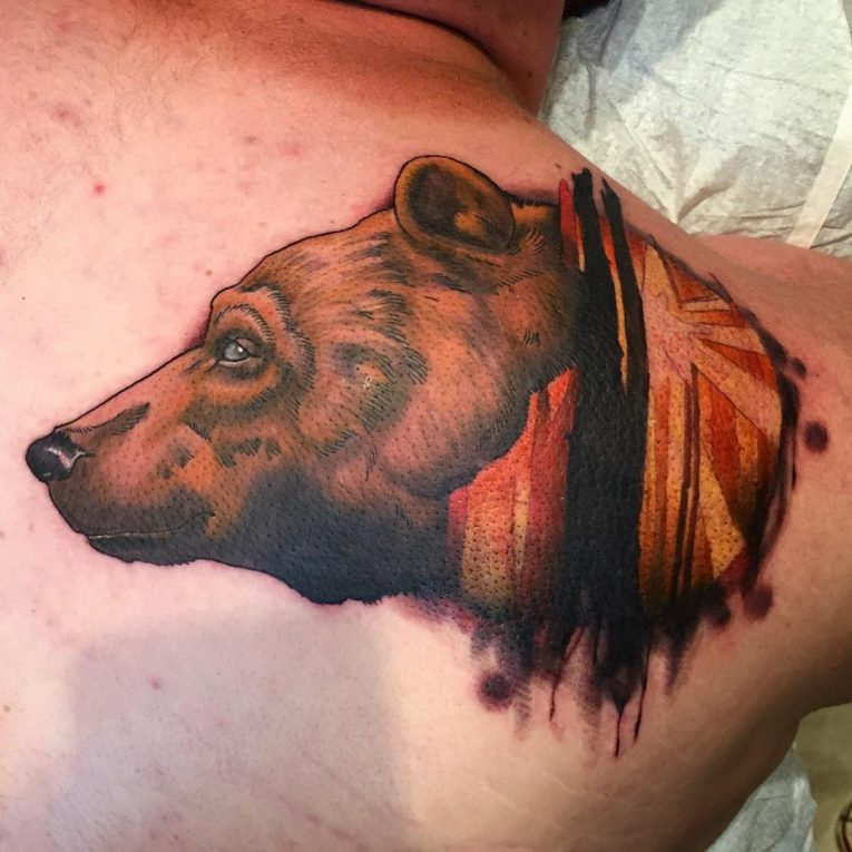 Bear Tattoo 85