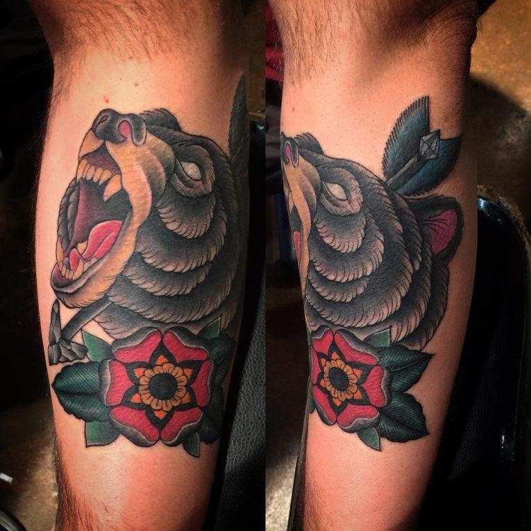 Bear Tattoo 86