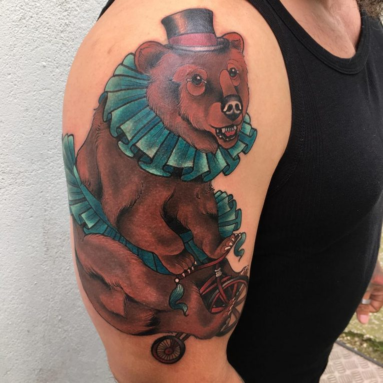 Bear Tattoo 87