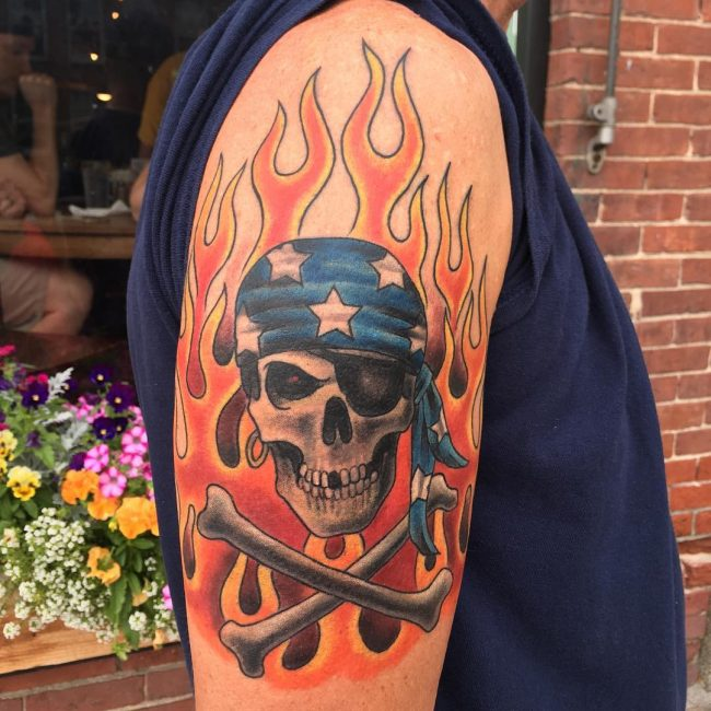 Biker Tattoo 69