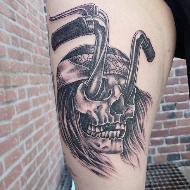 Biker Tattoo 70