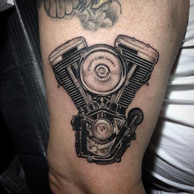 Biker Tattoo 74