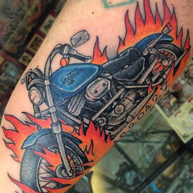 Biker Tattoo 75