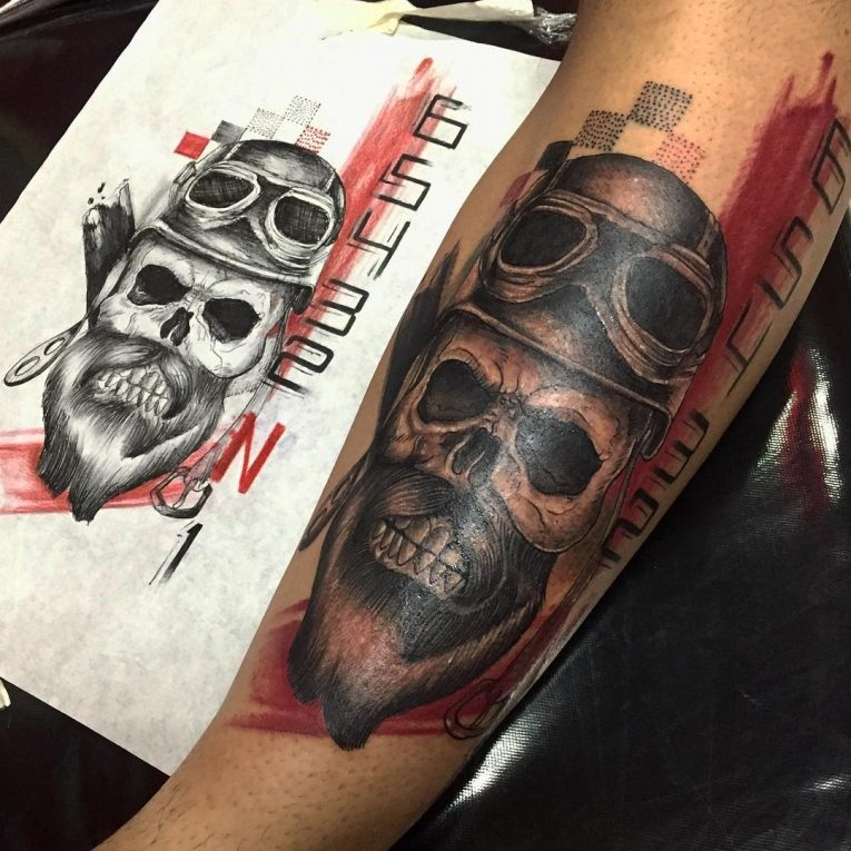 Gang Tattoos And Their Meaning: 85+ Best Biker Tattoo Designs & Meanings
