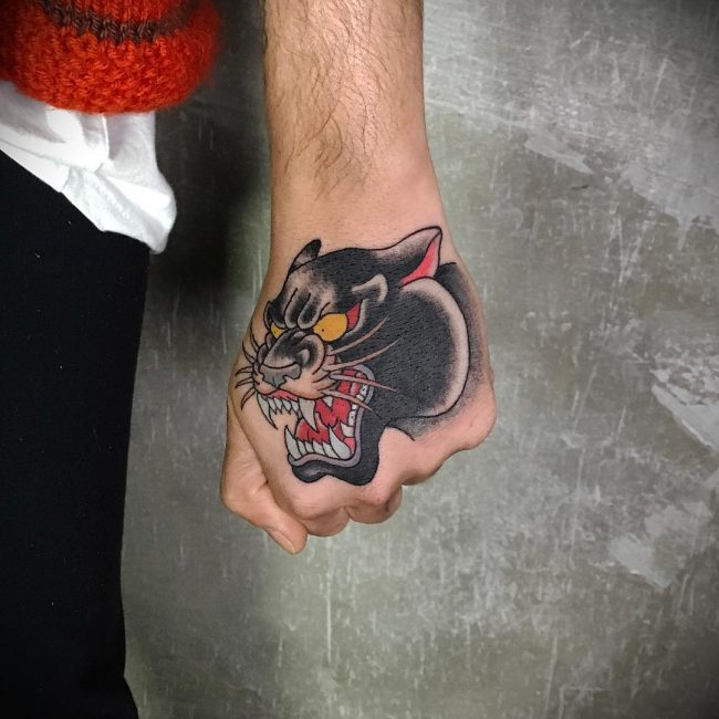 Black Panther Tattoo 105
