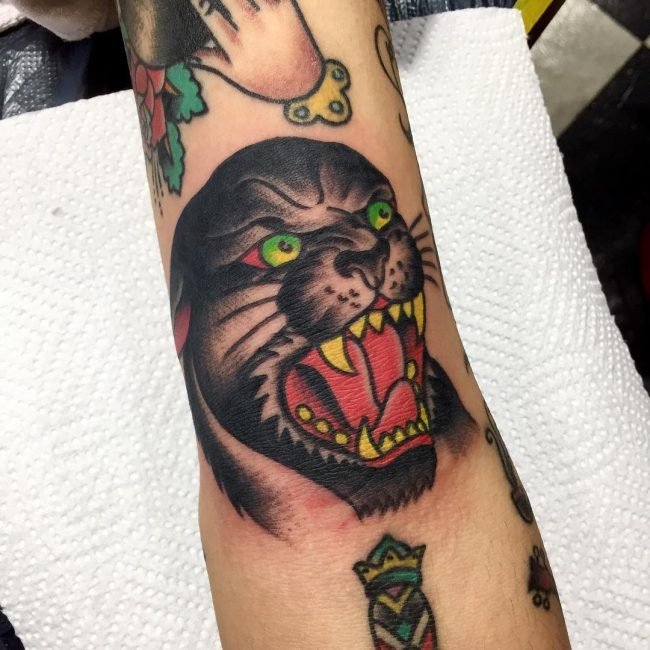 Black Panther Tattoo 106