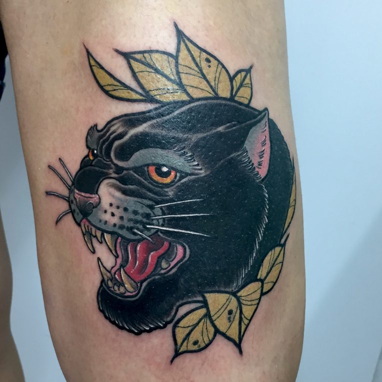 Black Panther Tattoo 113