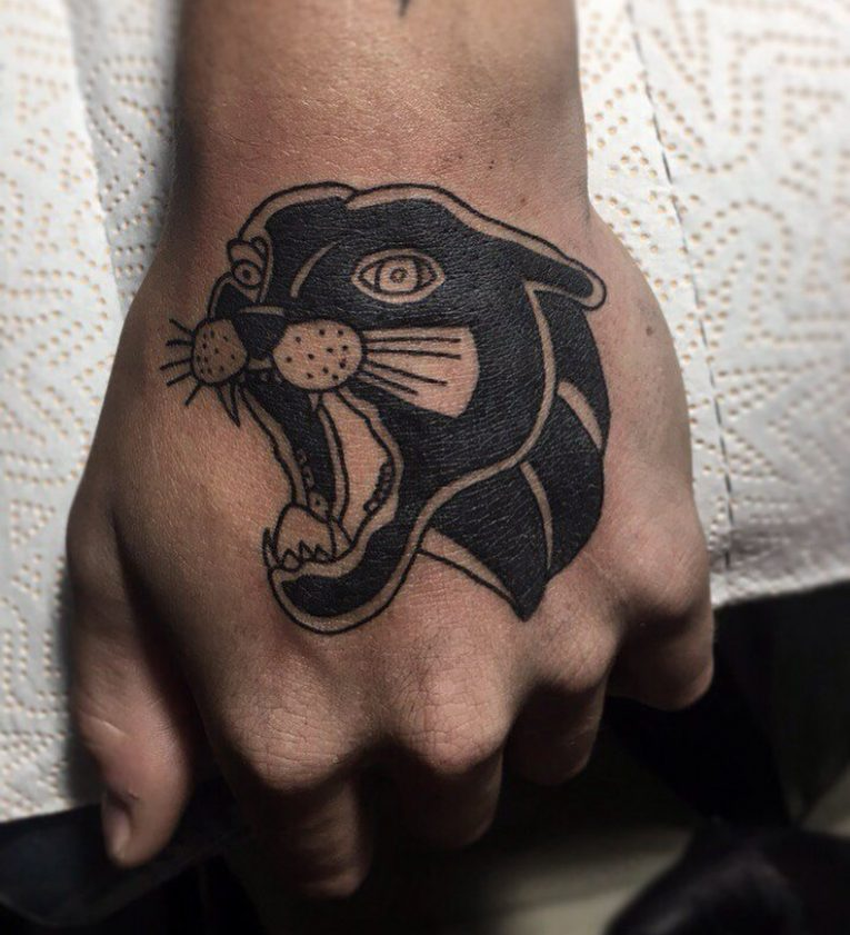 Black Panther Tattoo 115