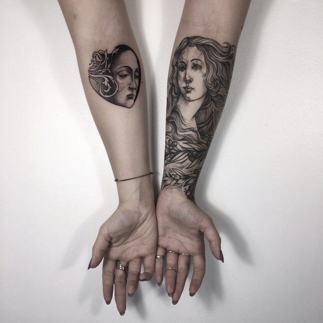 Black & White Tattoo 56