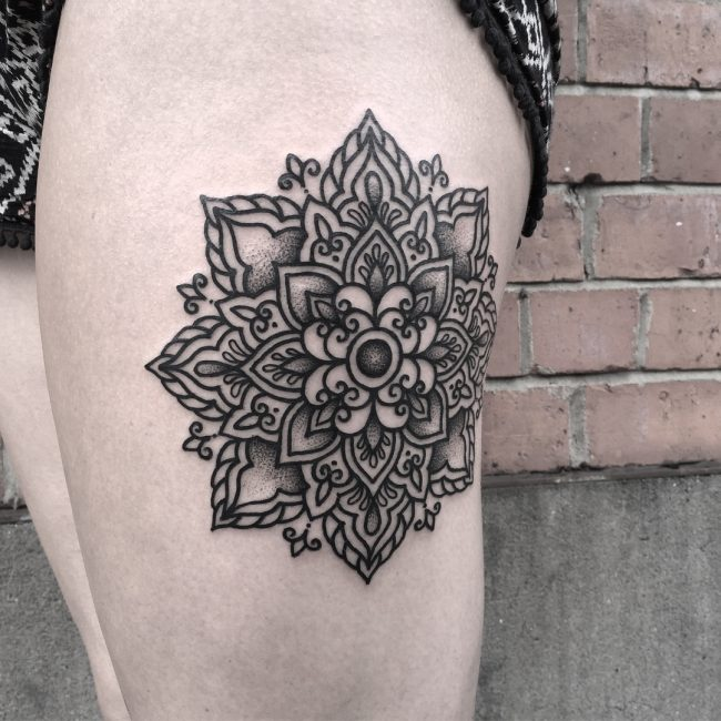 Black & White Tattoo 60