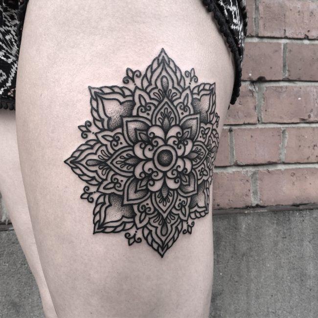 Black & White Tattoo 60