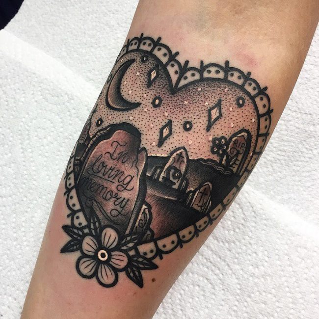 Black & White Tattoo 61