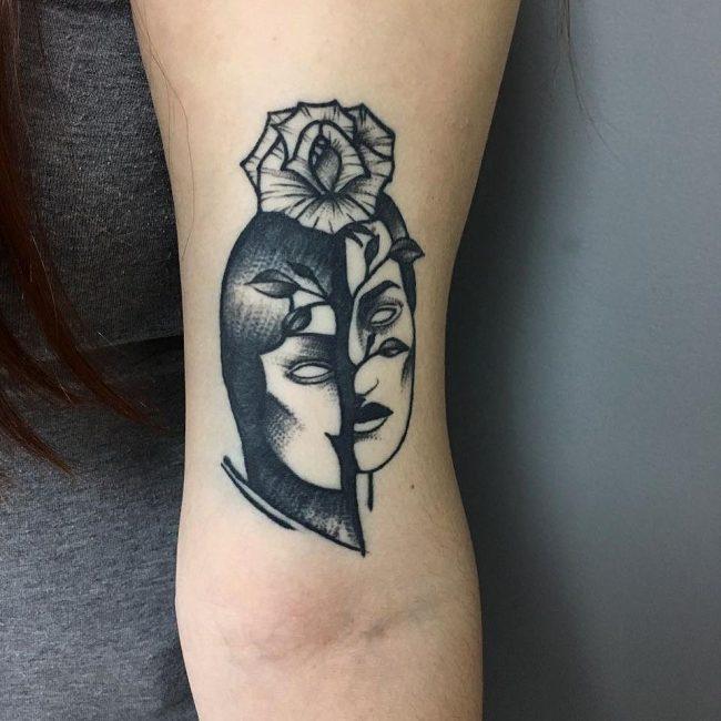 Black & White Tattoo 62