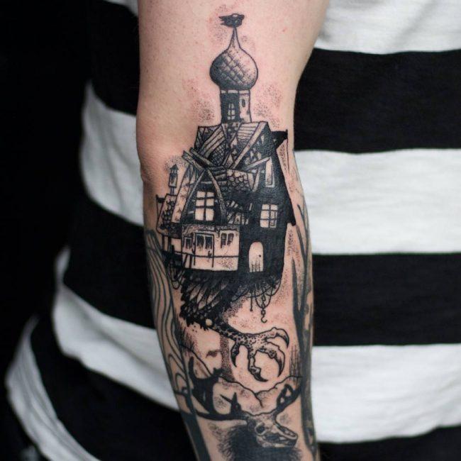 Black & White Tattoo 65