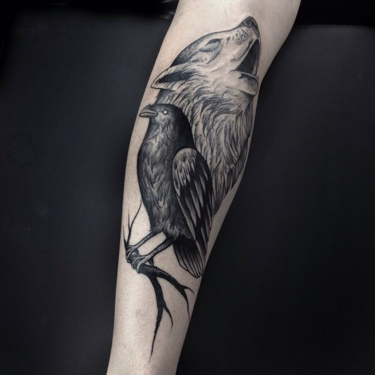 Black & White Tattoo 67