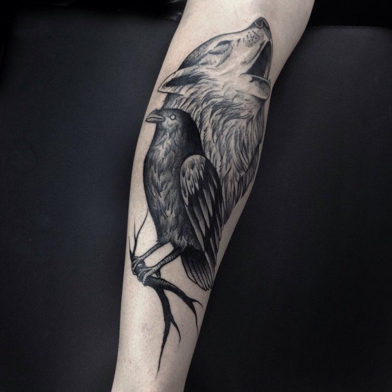 Black & White Tattoo 67