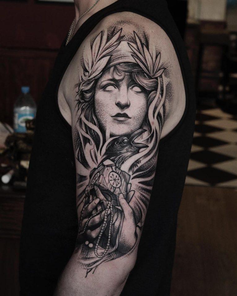 Black & White Tattoo 72