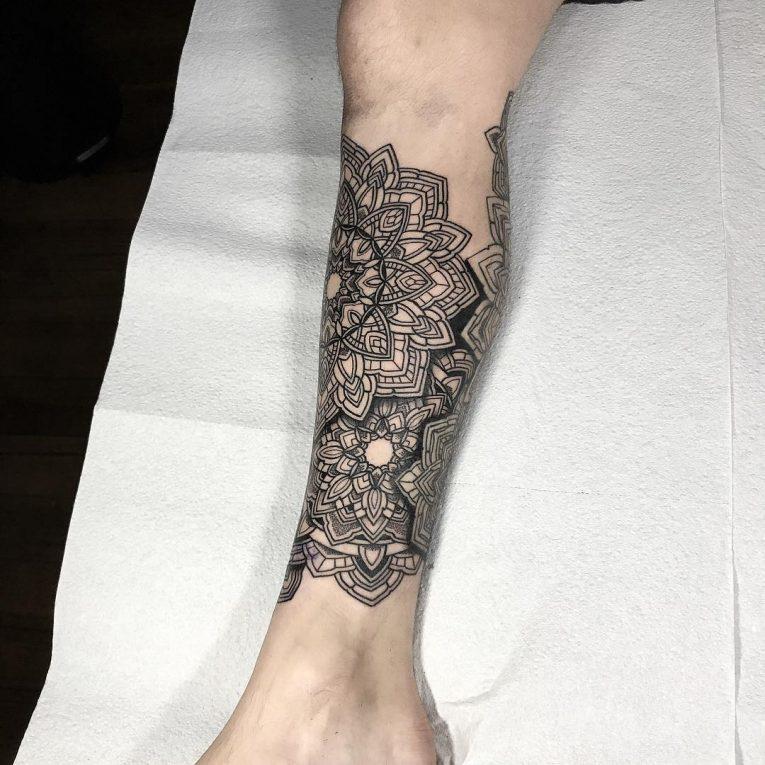 Black & White Tattoo 74